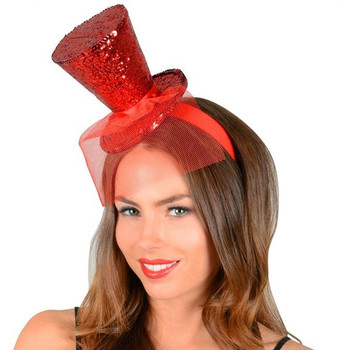 fafe04f0 Party Red Mini Fascinator Hats Headband For Ladies - Buy Fascinator ...