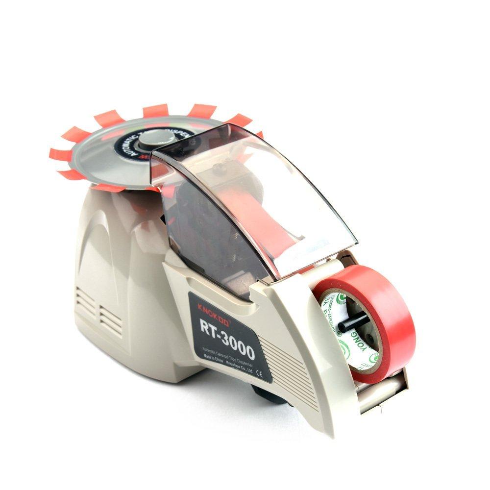 KNOKOO Auto Definite Length Electric Tape Dispenser Machine RT-3000 Carousel Automatic Tape Dispenser