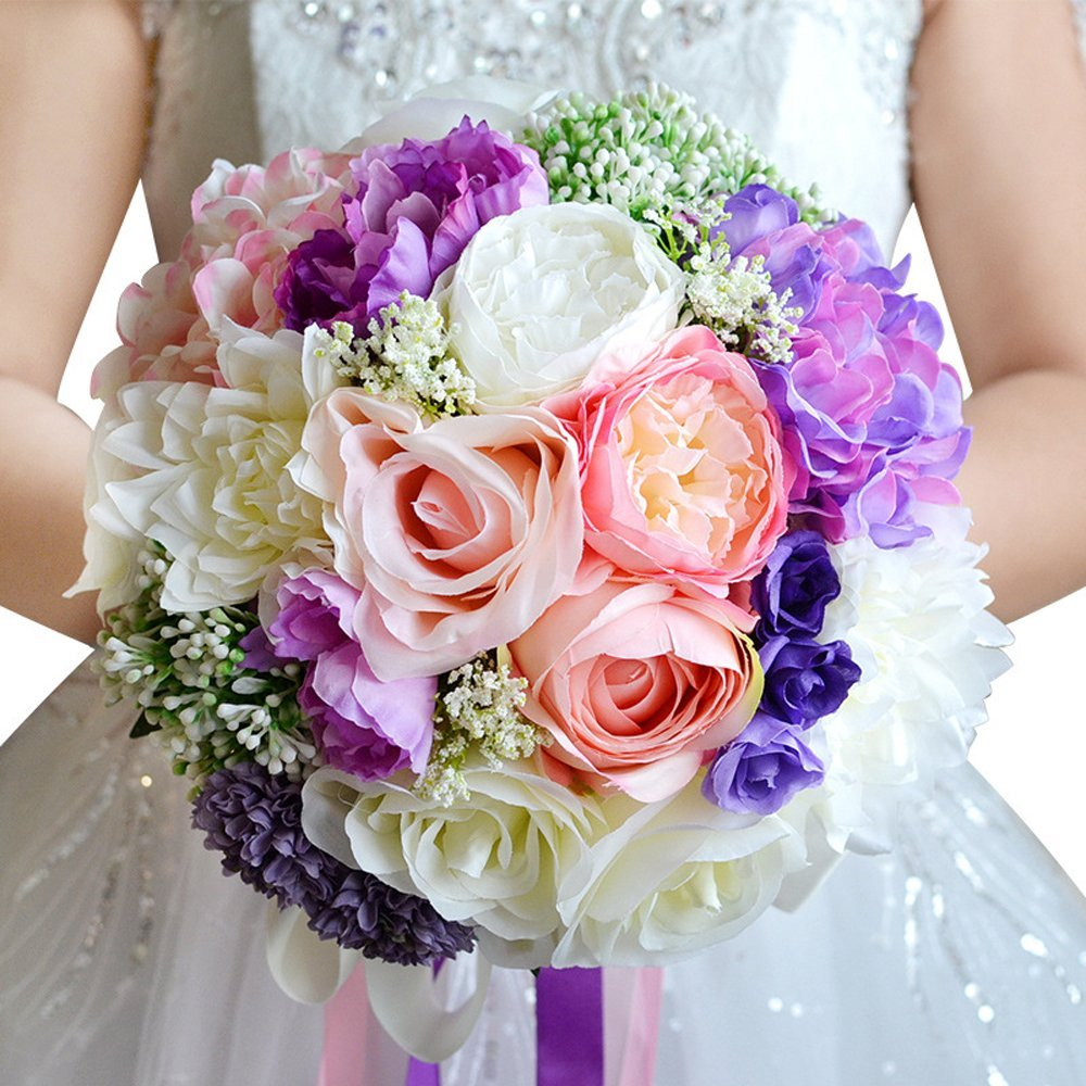 Cheap Bridal Bouquet Pink Roses Find Bridal Bouquet Pink Roses