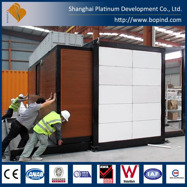 China supplier cheap fast construction 20 ft mobile house