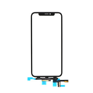 "for iPhone X Touch Screen Sensor Panel Digitizer Front Glass Lens 5.8"" Outer Panel With Flex Cable Assembly Replacement"