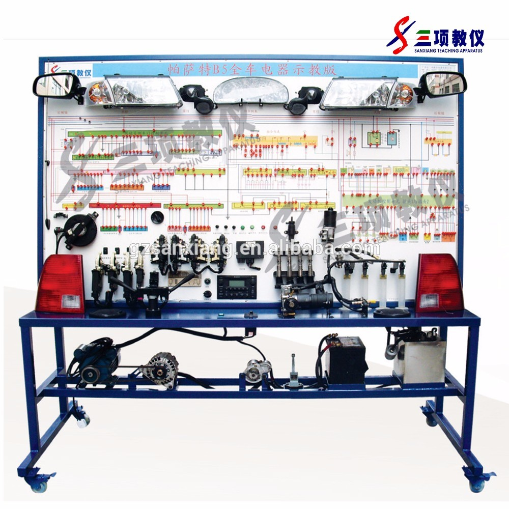 Pasate B5 Auto Electrical Training Board For Technical Vocational Secondary Wiring School
