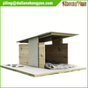 New Weather Resistant Outdoor Wood Dog Kennel