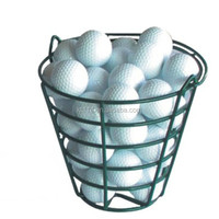 Green Quality Steel Golf Ball Basket
