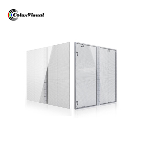 P3.91 Glass window Transparent led display screen/Video Wall