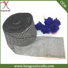wholesale 18 line diamond mesh wrap roll sparkle rhinestone ribbon