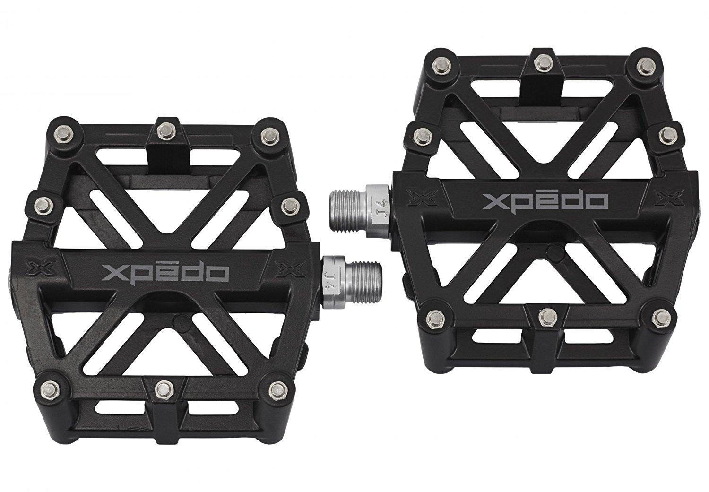 Xpedo Magnesium platform pedals, black