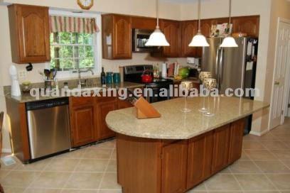 pas cher cuisine en bois massif meubles, kd cuisine armoires ... - Meuble Cuisine En Bois Massif