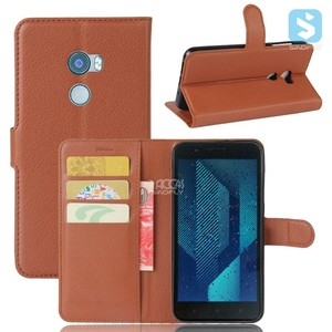 Magnetic Flip PU Leather Wallet Case Cover for HTC One X10