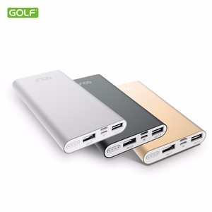 New products 10000mah power bank with slim design for wedding gift mobile power charger