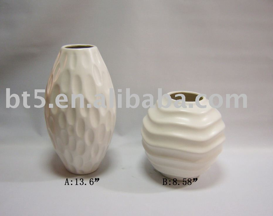 Popular selling ceramic stoneware porcelain china flower vase