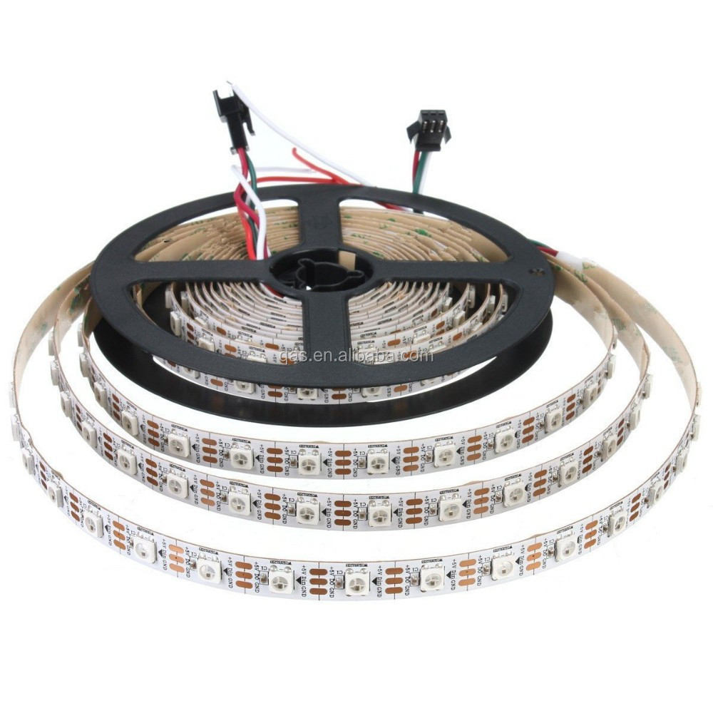 Ws2812b Pre-soldered Leds With Transparent Wire 5v Ws2812 Ic Built ...