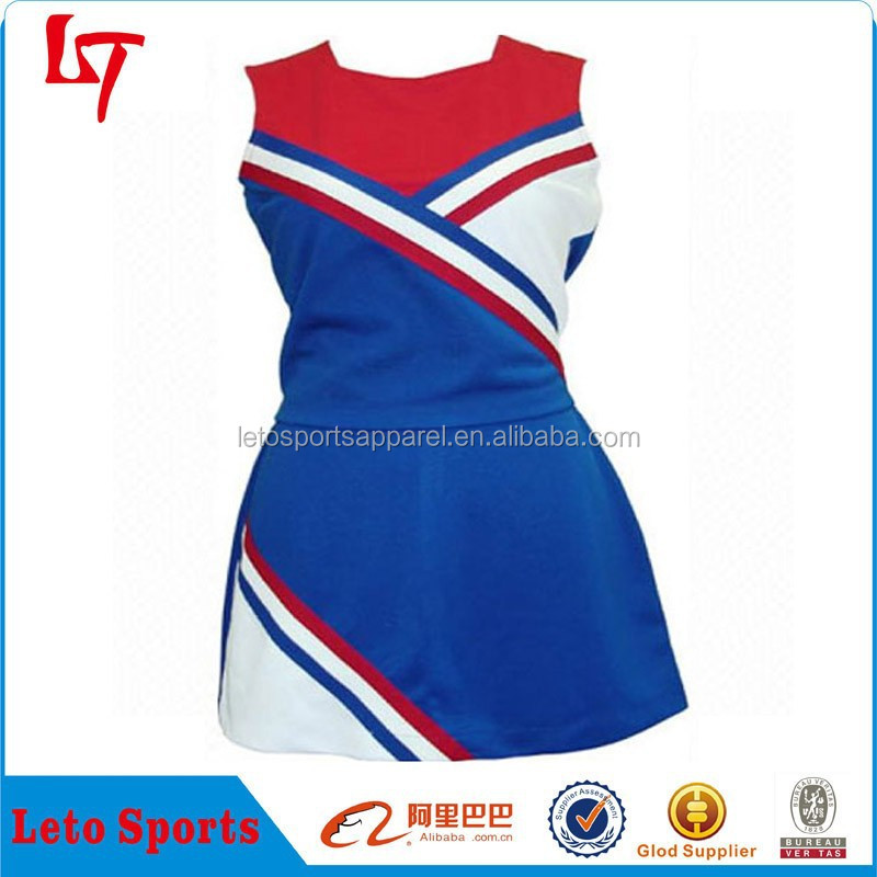 Slim Fit Ladies Cheerleading Dress /3D Sublimation Heat Transfer Print Vintage Cheerleader Clothing