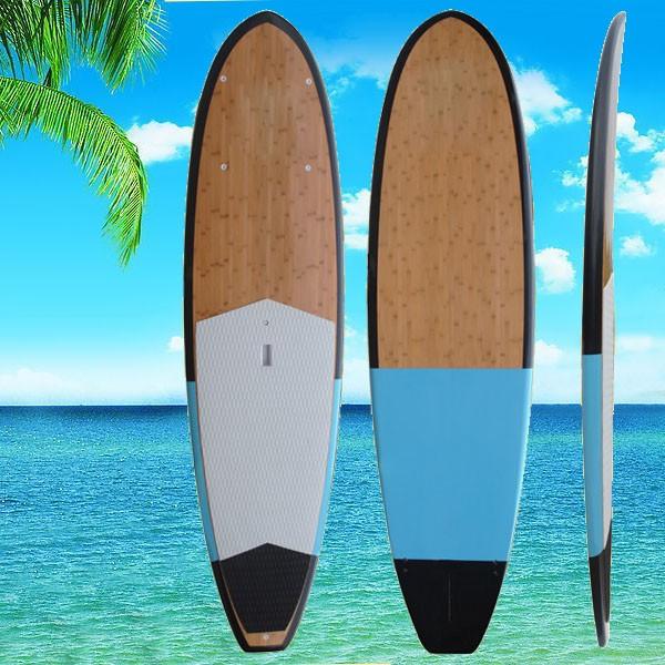 Best Price Sup Epoxy Fiberglass Stand Up Bamboo Paddle