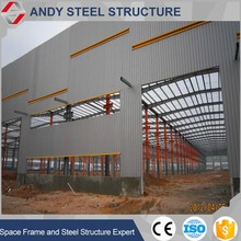 Top quality prebuilt structural steel frame warehouse construction