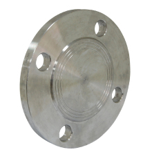 OEM cnc machined double paddle blind flange