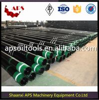 Oil Well Drilling Casing Pipe API 5CT spec/N80,J55,K55 steel OCTG Casing in Oil and Gas