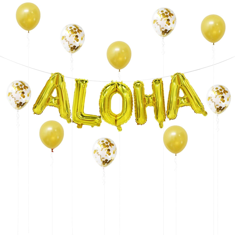4pcs Confetti Hawaiian Bright Nice-looking Party Confetti Glitter Confetti Luau Confetti For Table Wedding Banquet Special Buy Home & Garden