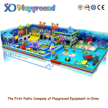 Kids Indoor Playground Slide Ball Pool Obstacle Courses Indoor Wooden  Equipment Kid Plastic Playground Sets Children