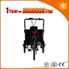 3 wheel handicapped tricycle with front cargo basket