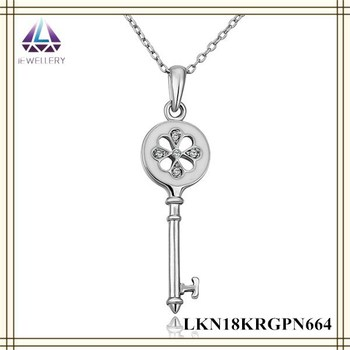 White gold key pendant necklace meaning pendant wholesale price white gold key pendant necklace meaning pendant wholesale price high quality necklace for women aloadofball Choice Image