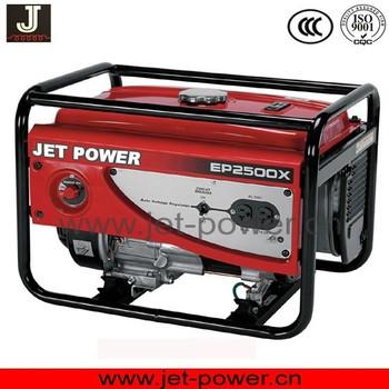 High Quality HONDA YAMAHA Gasoline 5kva 5kw 5000 Watt Generator