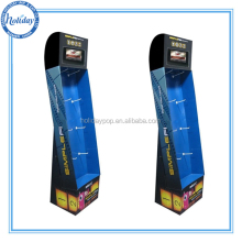 cardboard hook display stands toys display stand with 7 inch LCD screen