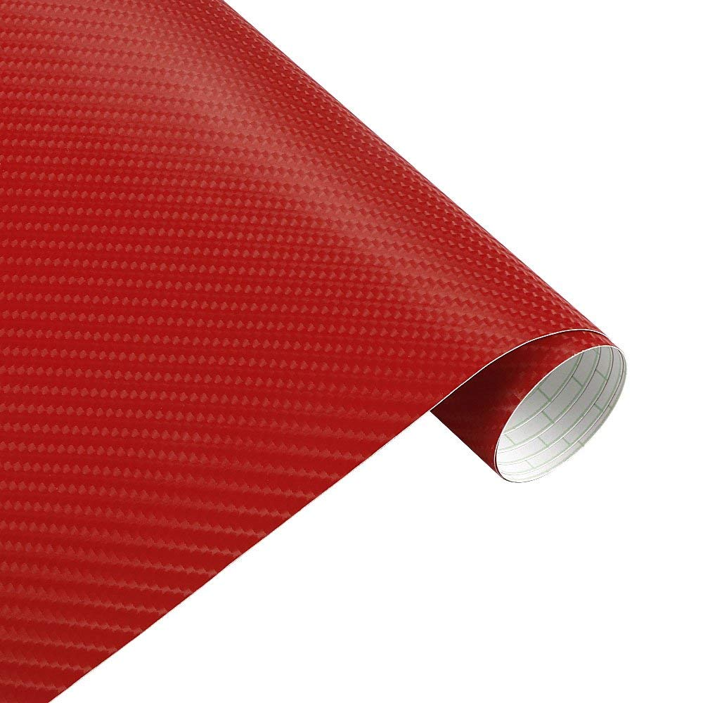 Mrcartool 4d car vinyl wrap carbon fiber sheet wrap roll waterproof vehicle sticker film wrapping decals