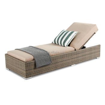 Wholesale Outdoor Furniture Aluminum Pool Seaside Chaise Lounge