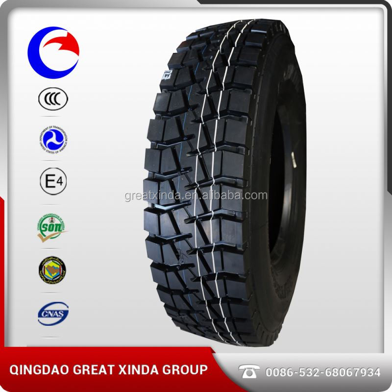 China St869 12.00r24 385/65r22.5 Triangle Tr697 Truck Tire