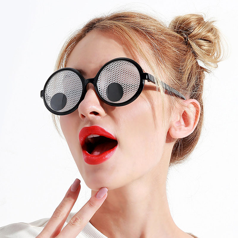 christmas decoration funny googly eyes goggles shaking eyes party