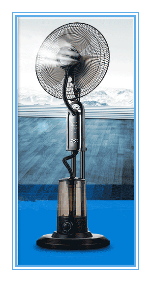 Factory 16 Quot Electric Water Mist Fan Indoor Water Cooling