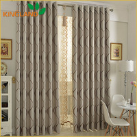 Luxury Style High-Presion Jacquard Blackout Ready Made Curtains