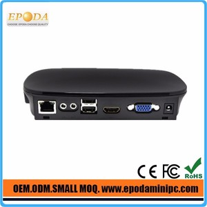 Linux Micro Cloud Computer FL300 Up To 32 Bit Color Net PC Station CPU 1GHz Dual Core Thin Client PC HDMIport 1080P Movie