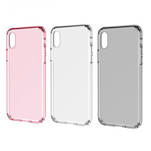 High quality mobile phone soft clear TPU case transparent tpu silicon phone case for iphone
