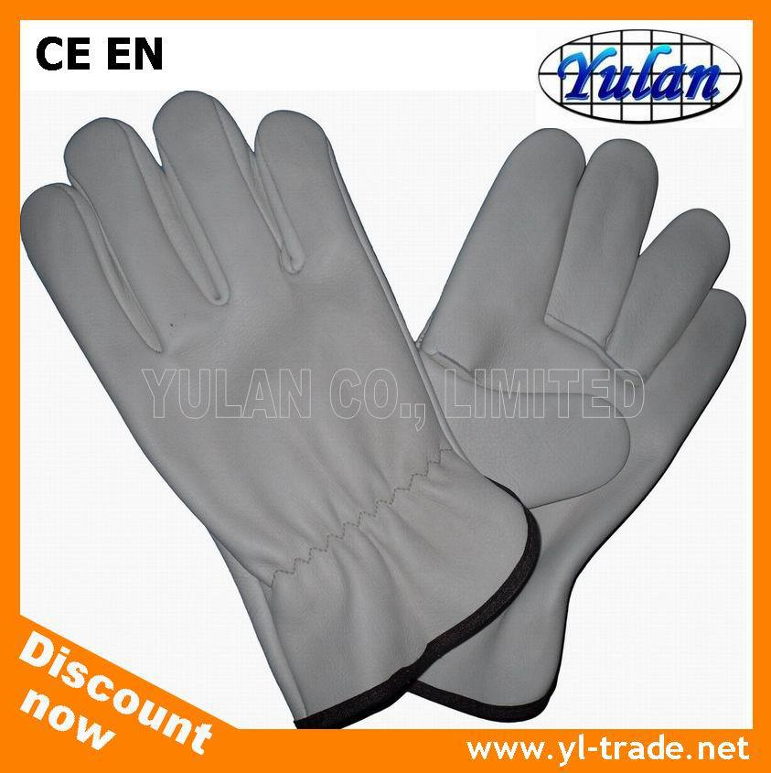 Driver Gloves Made In China Cow grain leather wholesale custom driving gloves