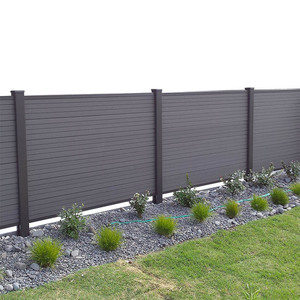 hot seller eco friendly outdoor backyard wpc fence
