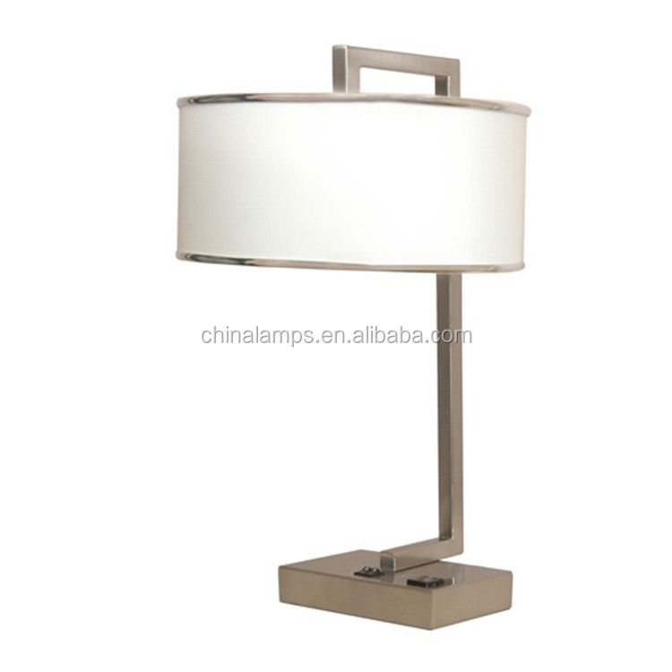 Canada Standard Two Lamp Shade Wholesale Table Lamps With Power ...
