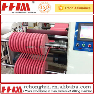 Customrized 1300mm medical micropore surgical tape cutting machine/bopp tape/duct tape roll slitting machine