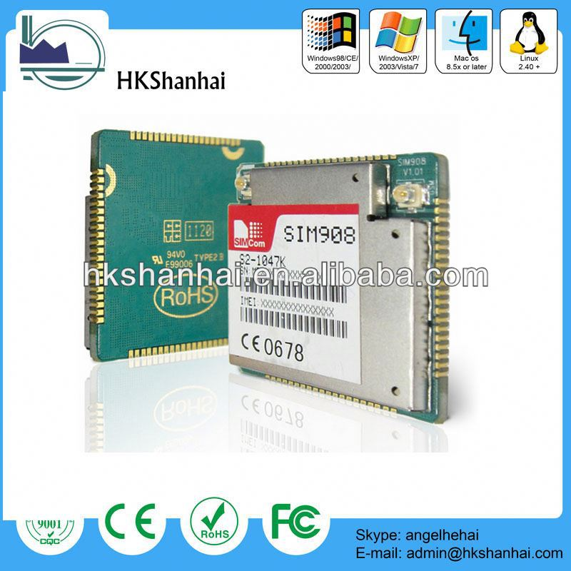 2014 new products 64 Ports gsm modem /quad band gsm gprs gps sim908 module for sending bulk sms