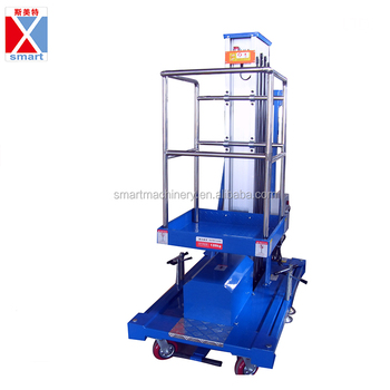 Portable Single Man Lifts For Sale - Buy Portable Single Man Lifts For  Sale,Hydraulic Aluminum Alloy Lift Ladder,Working Lift Platforms Product on