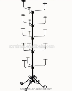 High Quality Beautiful Metal Hat Shelf Parts Hanging Display Rack
