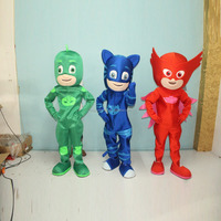 Cool with Fan PJ Mask Cartoon Character Mascot costume for sale