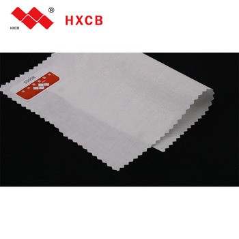 suzhou fusible interlining supper Woven Polyester Fabric For Garment