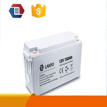 Hot Sales12v 100AH 150AH solar battery 12v gel nife battery High quality