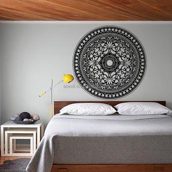 K18 Aiwall Gepersonaliseerde Mandala Wall Art Decals Creative ...