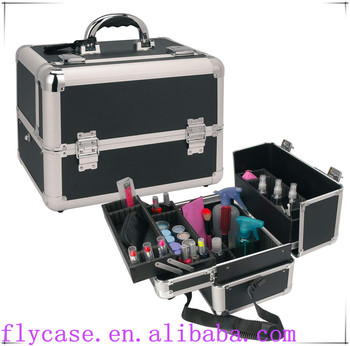 professional aluminum cosmetic case for makeup collection,aluminum suitcase