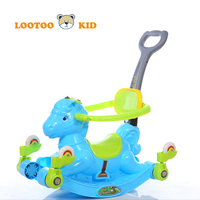 Alibaba china manufacturer wholesale cheap price dry cell light music baby walking car horse ride toy