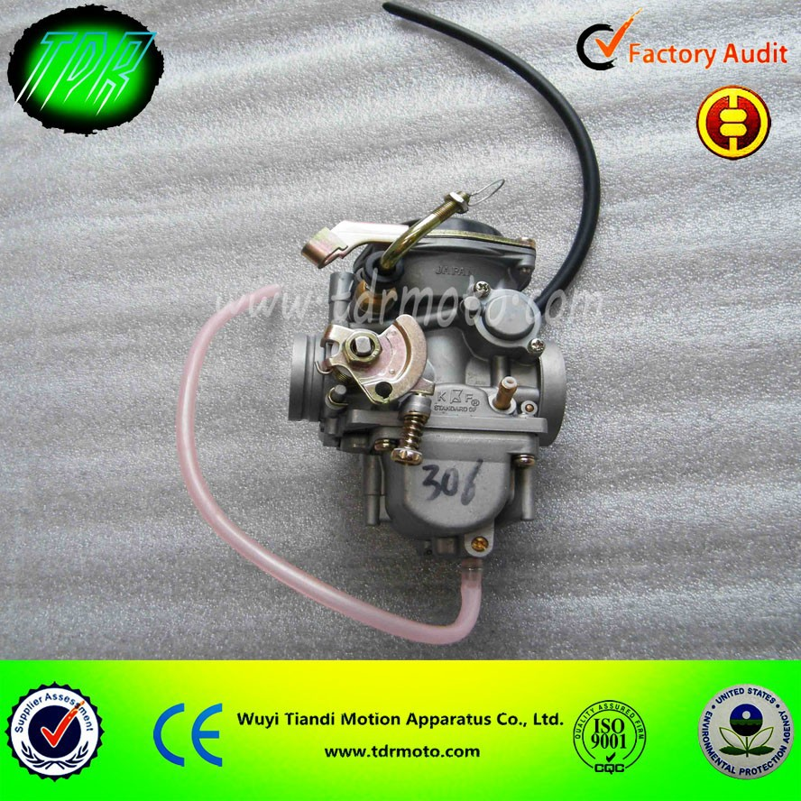 Kunfu PD34 Powerful Vacuum Carburetor for 250cc 300cc 400cc Motocycle, ATV