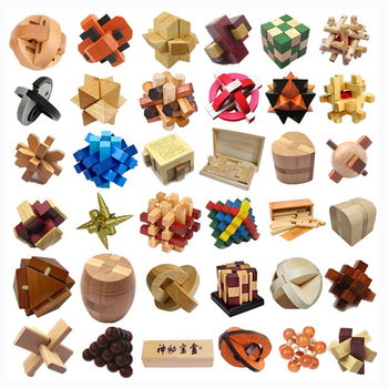 wholesale cube game 3d wooden puzzle